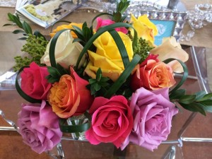 Beautiful multi-colored roses!